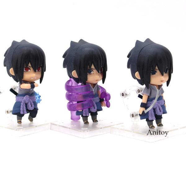 Sasuke Nendoroids white floor