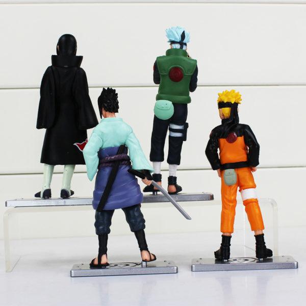 Naruto Figures Set Back