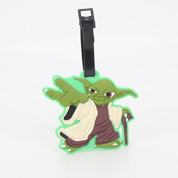 Star Wars Luggage Tags Yoda