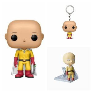 one punch man keychain Nendoroid and Action Figure