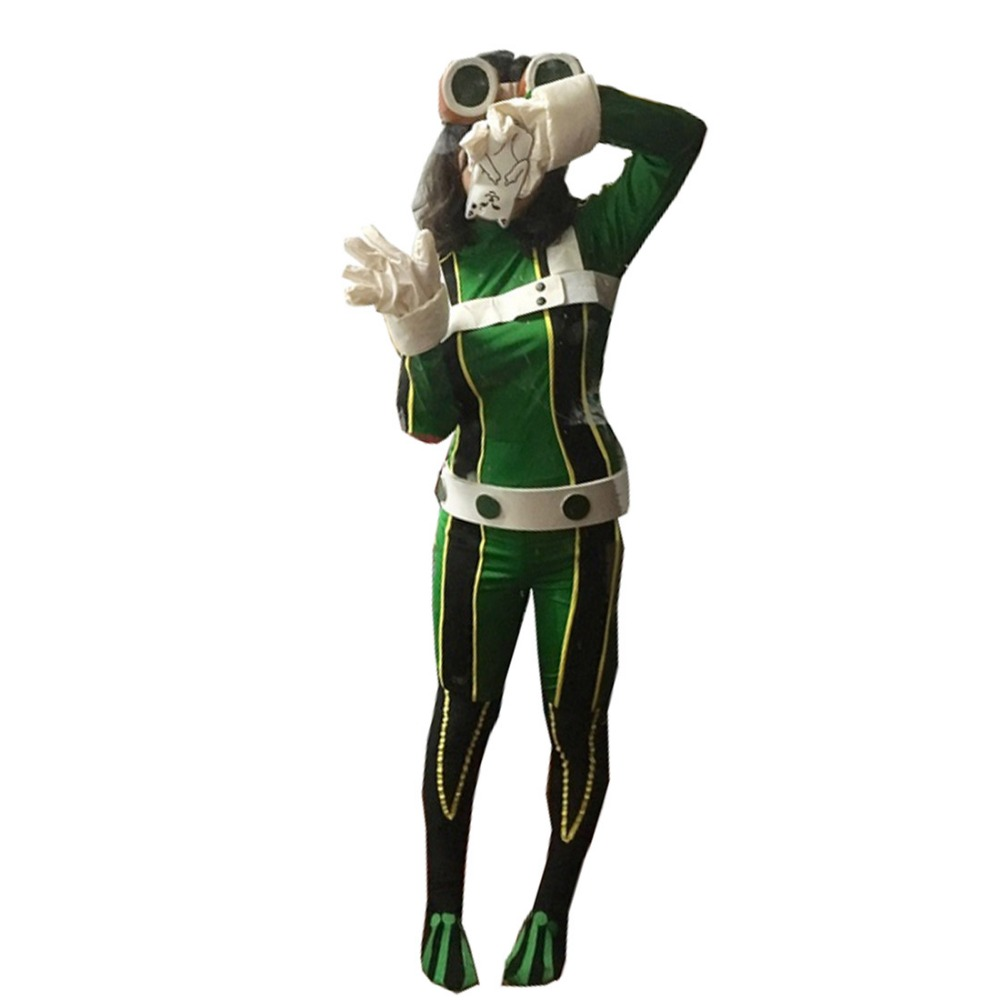 My Hero Academia Asui Tsuyu Cosplay Costume